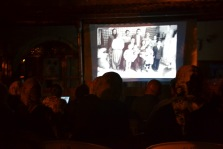 projection de photographies anciennes