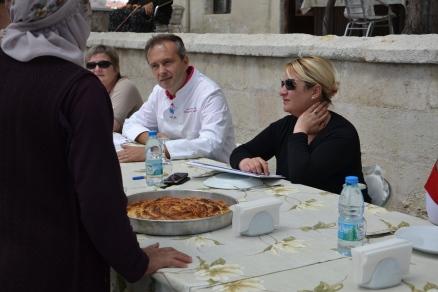 le jury du concours de cuisine